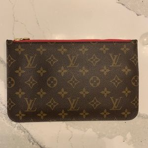 Louis Vuitton Neverfull GM Monogram Pouch